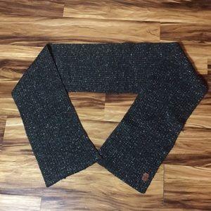Men's Cole Han black scarf 22% wool 20% alpaca